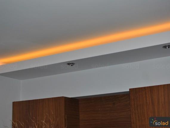 Oświetlenie sufitu podwieszanego SOLED  galeria   -> Kuchnia Sufit Led