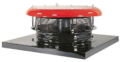Wentylator osiowy dachowy WOD