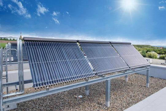 Próżniowy rurowy kolektor słoneczny Vitosol 200-T
