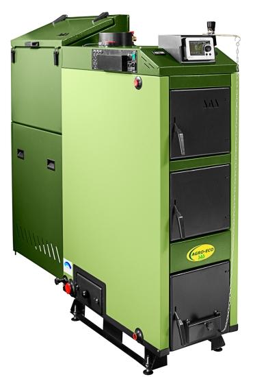 kocioł na węgiel sortymentu groszek ekogroszek oraz inne paliwa zasypowe SAS AGRO-ECO
